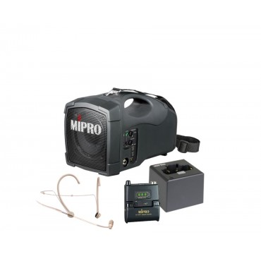 Mipro MA-101G + Mipro ACT-58T + Mipro MU-53HNS + Mipro MP-8 lader