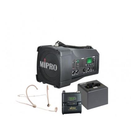 Mipro MA-100SG + Mipro ACT-58TC + Mipro MU-53HNS + Mipro MP-8 lader