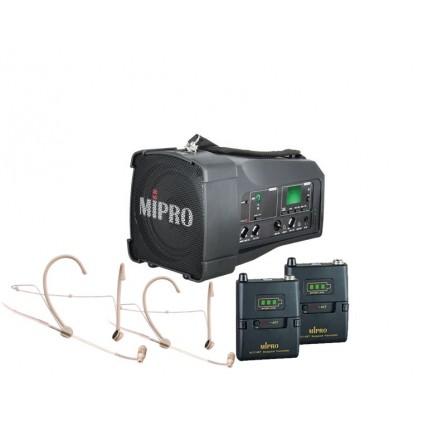 Mipro MA-100DG + Mipro ACT-58T + Mipro MU-53HNS