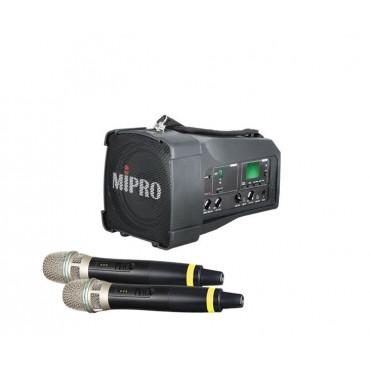 Mipro MA-100DG + Mipro ACT-58H Håndmikrofon/Sender Digital