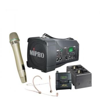Mipro MA-100DG + Mipro MU-53HNS + Mipro ACT-58TC + Mipro ACT-58HC + Mipro MP-8 lader