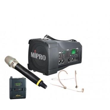 Mipro MA-100DG + Mipro ACT-58H + Mipro ACT 58T + Mipro MU-53HNS