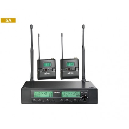 Mipro ACT-312(II)/ACT-32TC x 2  5A  506~530MHz
