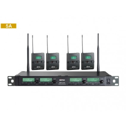 Mipro ACT-343/ACT-32T  5A 506~530MHz   lommesender x 4