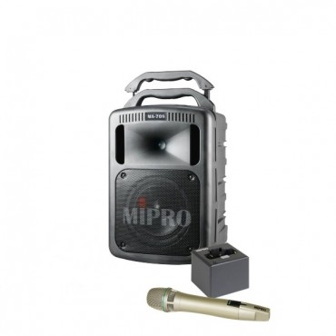 Mipro MA-708PA + Mipro MP-8 lader + Mipro ACT-58HC + Mipro MRM-58C