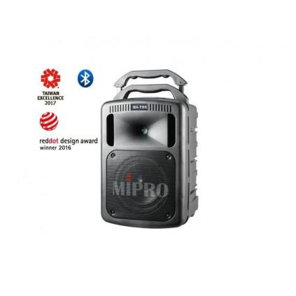 Mipro MA-708PA active 190 watt portabel PA + Mipro MRM-70B ISM