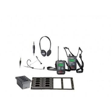 Mipro MTG-100 komplett system 16, racklader ISM (863~865M)