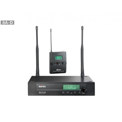 Mipro ACT-311B/ACT-32T lommesender 8A-D